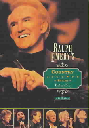 RALPH EMERY COUNTRY LEGENDS:V2 BY EMERY,RALPH (DVD)